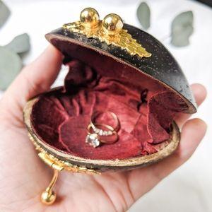 Ring Box Bohemian Antique Vintage Jewelery Case